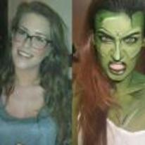 Radnom funny picture tags: girl she-hulk cosplay costume hulk