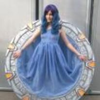 Radnom funny picture tags: girl stargate cosplay actual-gate costume