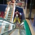 Radnom funny picture tags: guy standing escalator like boss
