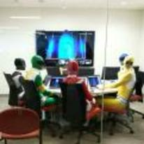 Radnom funny picture tags: halloween business meeting power-rangers work