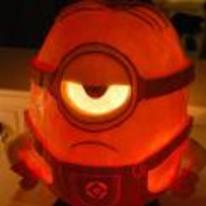 Radnom funny picture tags: halloween pumpkin minion Despicable-Me quality