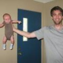 Currently trending funny picture tags: how-to-hold-a-baby guy holding baby one-hand