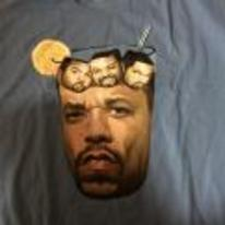 Radnom funny picture tags: ice-T t-shirt ice-cube ice-tea-with-ice-cubes-in shirt