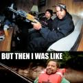 Radnom funny picture tags: ice cube ak47 fishing like