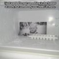 Radnom funny picture tags: jack-nicholson freezer frozen shining fridge