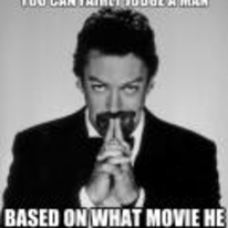 Radnom funny picture tags: judge-a-man tim-curry film what-film-they-know fairly-judge-a-man