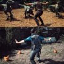 Radnom funny picture tags: jurrasic-world raptor-scene recreated chickens I-got-this