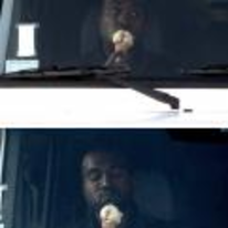 Radnom funny picture tags: kanye-west eating ice-cream turck loves-it