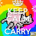 Radnom funny picture tags: keep calm carry nyan on