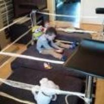 Radnom funny picture tags: kid homemade wrestling-ring living-room WWE