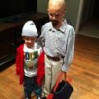 Radnom funny picture tags: kids breaking-bad halloween costume walt