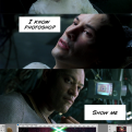 Radnom funny picture tags: know photoshop matrix Keanu-Reeves Neo