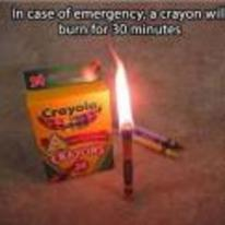 Radnom funny picture tags: life hacks crayon burn 30-minutes
