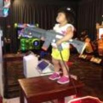 Currently trending funny picture tags: little-kid playing gun-game arcade cool