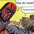 Currently trending funny picture tags: magneto how do work miracle