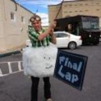Radnom funny picture tags: mario-kart cloud costume Lakitu halloween
