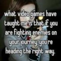 Radnom funny picture tags: motivational-message fighting enemies heading-the-right-way life-advice