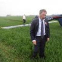 Radnom funny picture tags: nigel-farage ukip plane-crash upside-down field