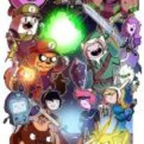 Radnom funny picture tags: nintendo smash-brothers adventure-time mash-up crossover