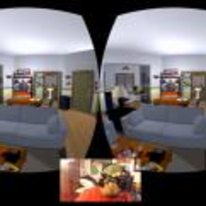 Radnom funny picture tags: oculus-VR Seinfeld apartment VR goggles