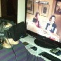Radnom funny picture tags: oculus-rift watching seinfeld VR thefuture