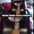 Radnom funny picture tags: on-the-internet nobody-knows you-are-a pineapple nobody