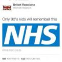 Currently trending funny picture tags: only-90s-kids-will-remember NHS twitter tweet 90s-kids