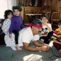 Radnom funny picture tags: playing snes like-you-mean-it rambo grandad