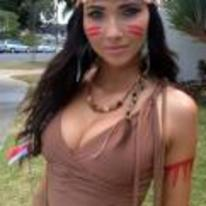 Currently trending funny picture tags: pocahontas cosplay costume hot-girl boobs
