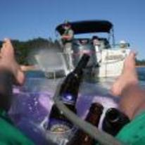 Radnom funny picture tags: police-boat tow-me-back-to-shore drunk dingy beer