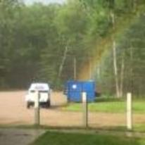 Radnom funny picture tags: rainbow going into bin trash