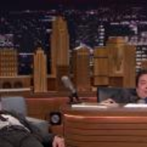 Radnom funny picture tags: robert-downey-junior jimmy-fallon slouching desk weird