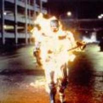 Radnom funny picture tags: robocop stay-chilled stay-cool on-fire burning