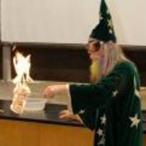 Radnom funny picture tags: science wizard burning money dollars