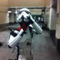 Radnom funny picture tags: shh deadpool stormtrooper costume cosplay