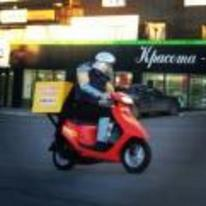 Radnom funny picture tags: shredder ninja-turtles looking-good moped delivering-pizza