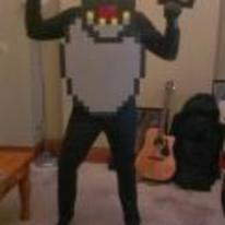 Radnom funny picture tags: ski-free monster costume halloween 8-bit