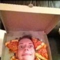 Radnom funny picture tags: snapchat wanna-piece-of-me-mate head through pizza-box