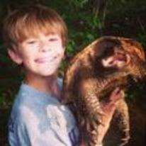 Radnom funny picture tags: snapping-turtle kid smiling pet snappo