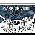 Radnom funny picture tags: snow night warp drive lolface