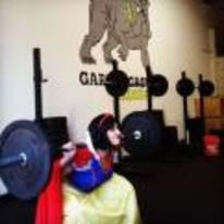 Radnom funny picture tags: snow-white lifting weights do-you-even-lift cosplay
