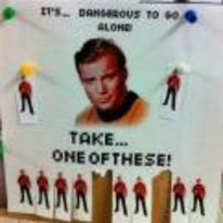 Radnom funny picture tags: star-trek kirk dangerous-to-go-alone take red-shirt