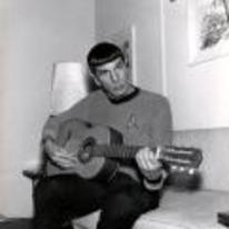 Radnom funny picture tags: star-trek spock playing guitar leonard-nimoy