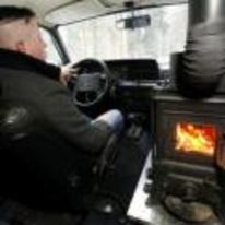 Radnom funny picture tags: stove fire in car burning