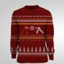Radnom funny picture tags: street-fighter-2 christmas-jumper ryu-ken xmas sweater