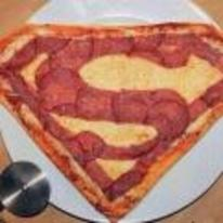 Radnom funny picture tags: superman pizza za superman-pizza logo
