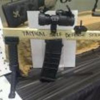 Radnom funny picture tags: tactical self defense stick scope