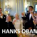 Radnom funny picture tags: thanks tom-hanks obama queen cheers