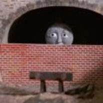 Radnom funny picture tags: thomas-the-thank-engine bricked-up gordon tunnel sad-train