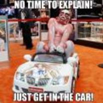 Radnom funny picture tags: titan cosplay no-time-to-explain get-in-the-car anime